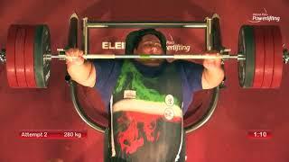 Kitakyushu 2018   Siamand Rahman wins the men´s over 107kg