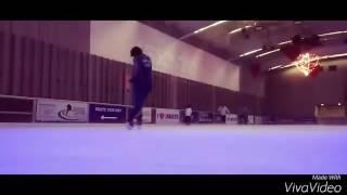 Ice skating freestyle moon walk on ice   INDIA  new video #ashishiskate