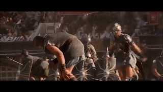 Gadiator Barbarian Horde Battle Scene (HD)