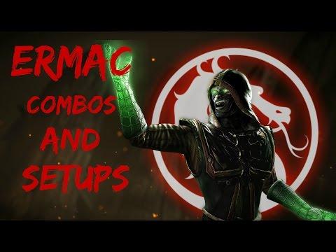 MKX:Ermac Combos & Setups(32-56%)