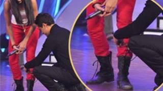 Imran Khan TOUCHES Katrina Kaif's FEET