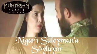 Hatice Sultan İbrahim ve Nigarı Süleymana Söylüyor - Muhteşem Yüzyıl 64.Bölüm