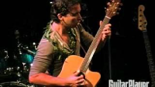 Makana Performs at Guitar Player's Guitar Superstar 2008