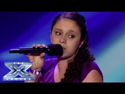 Simone Torres Revs Up with Mustang Sally THE X FACTOR USA 2013