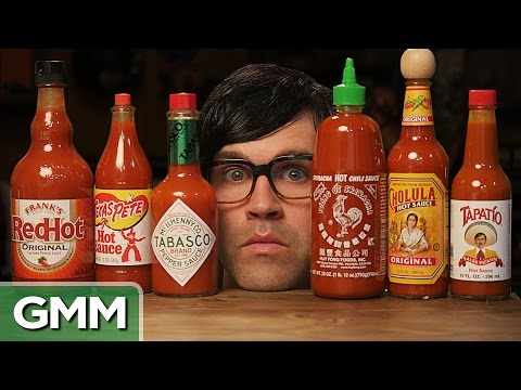 The Blind Hot Sauce Taste Test