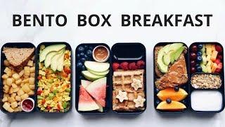 HEALTHY VEGAN BREAKFAST IN A BENTO BOX