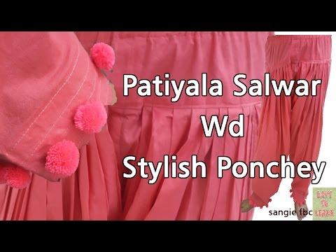 Patiyala Salwars(Pant)-Cutting & Stitching in Hindi-Easy to  Learn