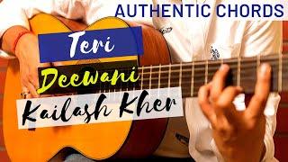 Teri Deewani - Kailash Kher - Guitar Lesson | Detailed Tutorial