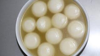 Sponge Rasgulla Recipe Bengali Rasgulla recipe রসগোল্লা তৈরির রেসিপি