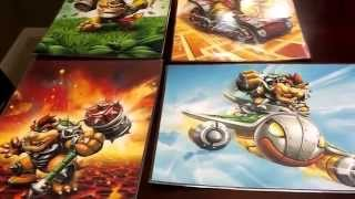 Skylanders SuperChargers Posters featuring Donkey Kong & Bowser