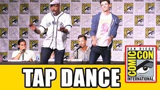 Grant Gustin & Jesse L Martin TAP DANCE Live at The Flash Comic Con 2016 Panel