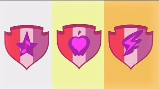 Apple Bloom, Sweetie Belle, and Scootaloo got their cutie marks!!!