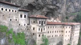 Sumela Manastiri / Trabzon, DJI Inspire 1 drone ile 4k Video Cekim