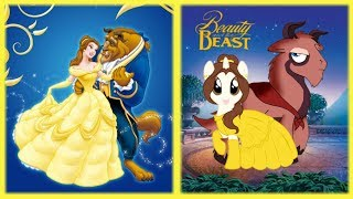 Beauty And The Beast In PONY VERSION!!!