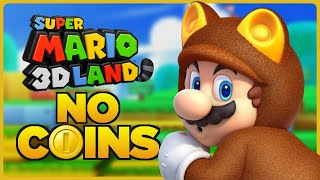 Is it possible to beat Super Mario 3D Land without touching a single coin?