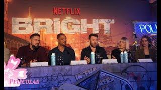 Bright Press Conference: Will Smith, Joel Edgerton, Noomi Rapace, Lucy Fry, Edgar Ramirez