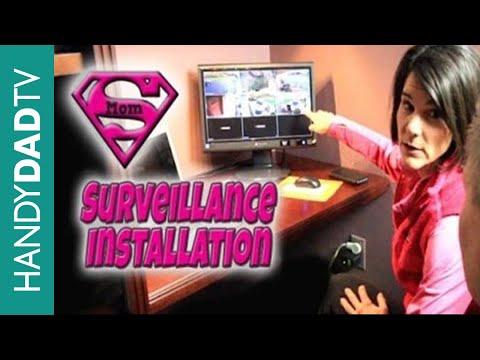 Home Surveillance Installation Costco Lorex 8 channel HD DVR