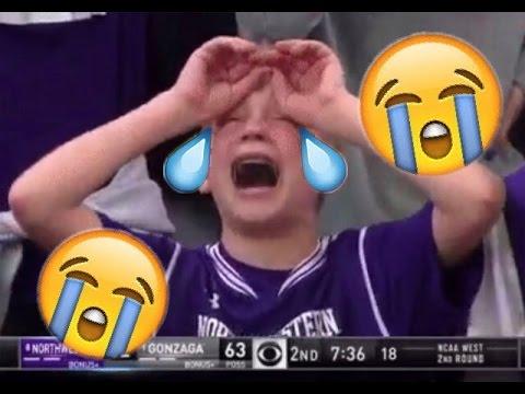 WATCH Kid CRYING Over Northwestern Bad Call
