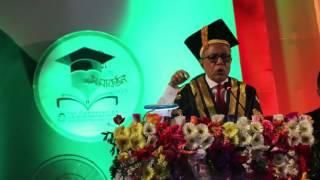 President Abdul Hamid Funny Speech at JKKNIU 1st Convocation
