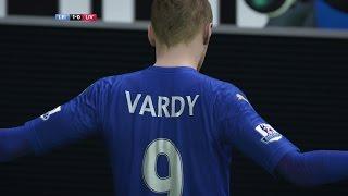 Jamie Vardy Wonder Goal Vs Liverpool ● 02/02/2016 ● FIFA 16 Remake