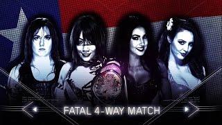 WWE NXT Takeover San Antonio 2017 Asuka vs Billie Kay vs Nikki Cross vs Peyton Royce