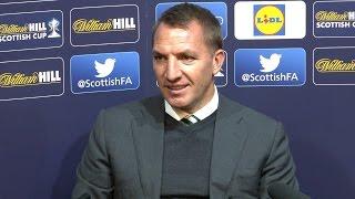Celtic 2-0 Rangers - Brendan Rodgers Post Match Press Conference