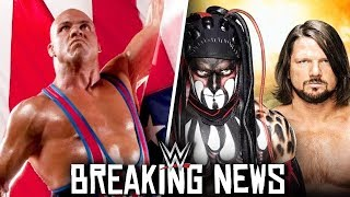 WWE Kurt Angle Wrestling at TLC 2017! AJ Styles vs Finn Balor! BREAKING NEWS!