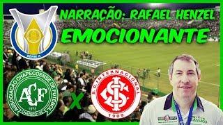 Chapecoense 2 x 1 Internacional - Rafael Henzel EMOCIONANTE + MILAGRE DE JANDREI - 17/09/2018