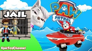Paw Patrol Nickelodeon Sweetie the Villain and Mission Paw and Sea Patrol Paw Patrol Toys Rescue