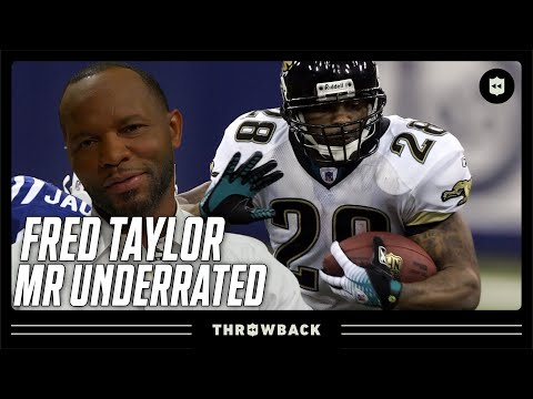 Fred Taylor The NFL s Most Under Appreciated Star Throwback Originals