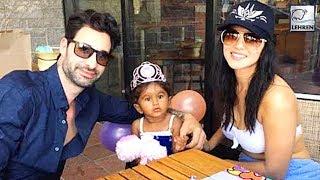 Sunny Leone CELEBRATES Nisha's 2nd Birthday   Inside Picture   LehrenTV