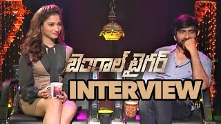 Bengal Tiger Movie Interview - Ravi Teja, Tamanna, Raashi Khanna