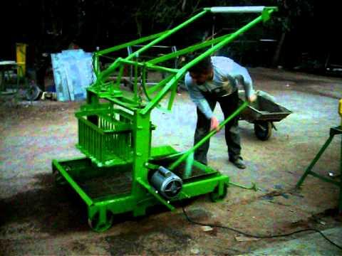 maquinas bloqueras quiroga. ladrillos y adoquines articulados