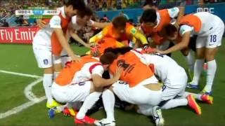[2014 브라질 월드컵 H조] 대한민국 VS 러시아 / 이근호 선제골
