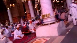 داخل المسجد النبوي
