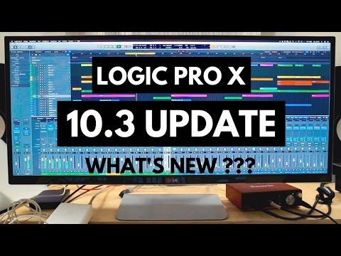 LOGIC PRO X 10.3 UPDATE - ALL NEW FEATURES EXPLAINED - SHOULD YOU UPGRADE ???