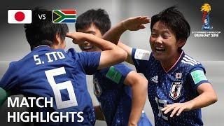 Japan v South Africa  - FIFA U-17 Women's World Cup 2018™ - Group B