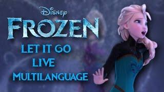 Let It Go LIVE Multilanguage (25 languages)