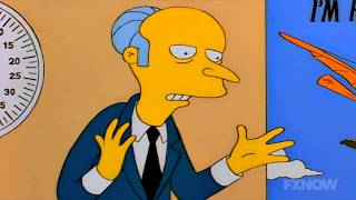 Mr. Burns - Success in Business