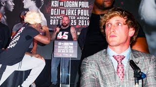 KSI VS LOGAN PAUL PRESS CONFERENCE HIGHLIGHTS