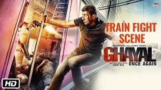 Ghayal Once Again Hindi Movie | Sunny Deol Train Fight Scene