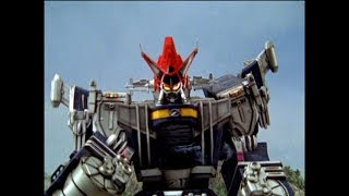 Power Rangers Operation Overdrive - Home and Away - Megazord Fight (Episode 27)