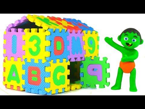 Xxx Mp4 SUPERHERO BABIES BUILD AN ABC HOUSE ❤ SUPERHERO PLAY DOH CARTOONS FOR KIDS 3gp Sex