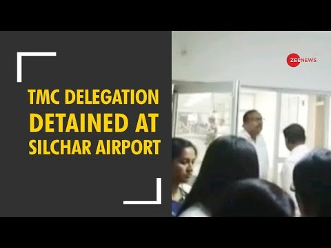 Xxx Mp4 NRC Row TMC Delegation Detained At Silchar Airport In Assam 3gp Sex
