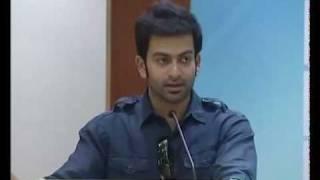 MUMBAI POLICE MOVIE POOJA 2- 1000AD CREATIONS ROSHAN ANDREWS PRITHVIRAJ BOBBY SANJAI