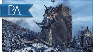 NORSCA MARCHES TO WAR - Total War: WARHAMMER Gameplay