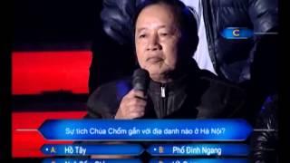 Ai là triệu phú - Huy Cuong  26-02-2013
