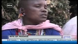 The Maasai Eunoto ceremony that is meant to graduate young maasais into adult hood