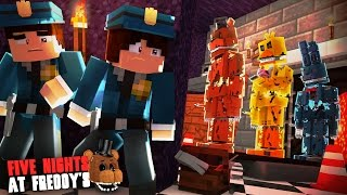 Minecraft: FIVE NIGHTS AT FREDDY'S #39 - FABRICADOR DE ANIMATRONICS!