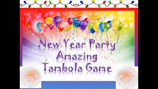 2018 🎈🎈unique,impressive new year party tambola games & kitty party games( lucky & win tambola)